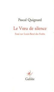Le Vœu de silence